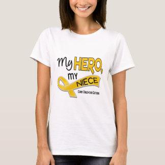 Childhood Cancer MY HERO MY NIECE 42 T-Shirt