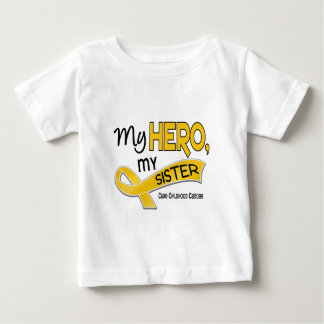 Childhood Cancer MY HERO MY SISTER 42 Baby T-Shirt