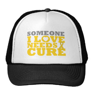 Childhood Cancer Someone I Love Needs A Cure Cap