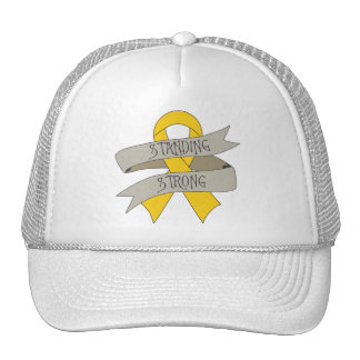 Childhood Cancer Standing Strong Cap