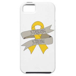Childhood Cancer Standing Strong iPhone 5 Cases