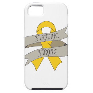 Childhood Cancer Standing Strong iPhone 5 Case