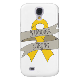 Childhood Cancer Standing Strong Galaxy S4 Covers
