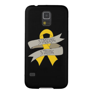 Childhood Cancer Standing Strong Galaxy S5 Covers