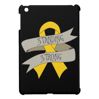 Childhood Cancer Standing Strong iPad Mini Cover
