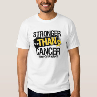 Childhood Cancer - Stronger Than Cancer Shirts