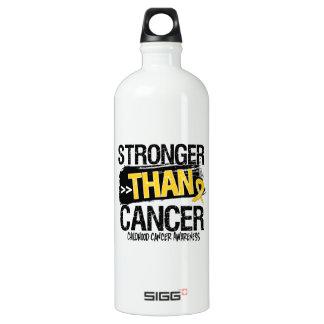 Childhood Cancer - Stronger Than Cancer SIGG Traveller 1.0L Water Bottle