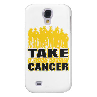 Childhood Cancer -Take A Stand Against Cancer Samsung Galaxy S4 Cover