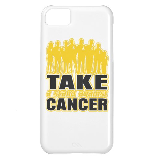 Childhood Cancer -Take A Stand Against Cancer iPhone 5C Cases