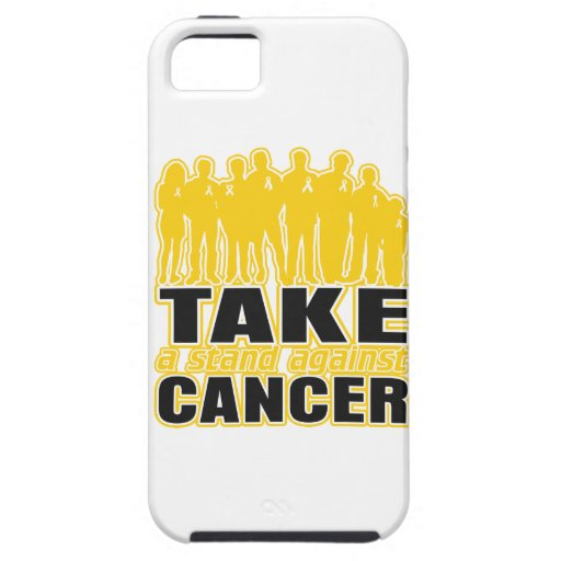 Childhood Cancer -Take A Stand Against Cancer iPhone 5 Case