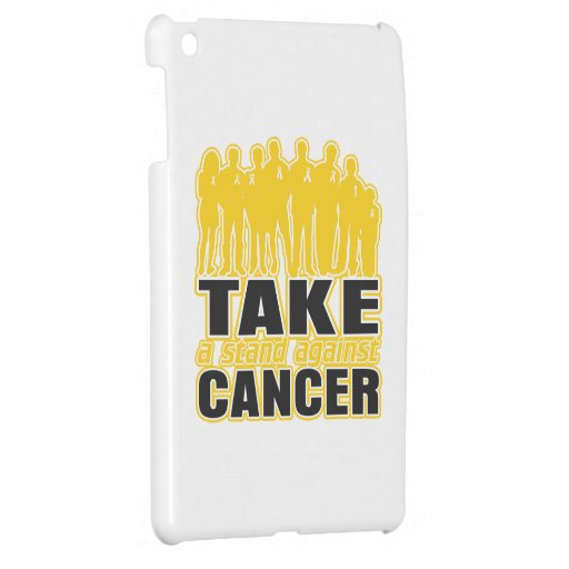Childhood Cancer -Take A Stand Against Cancer iPad Mini Cover