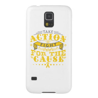 Childhood Cancer Take Action Fight For The Cause Case For Galaxy S5
