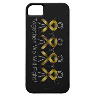 Childhood Cancer Together We Will Fight iPhone 5 Cases