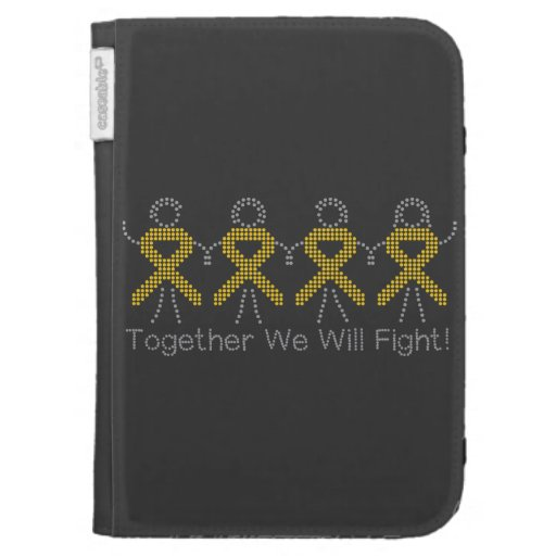 Childhood Cancer Together We Will Fight Cases For Kindle
