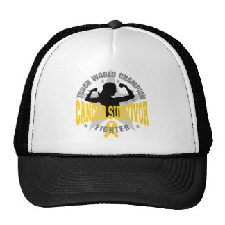 Childhood Cancer Tough Survivor Hat