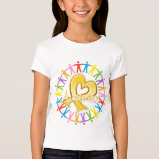Childhood Cancer Unite in Awareness Tshirt
