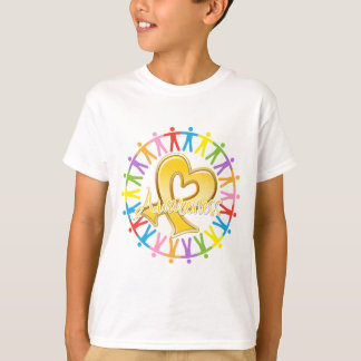 Childhood Cancer Unite in Awareness Tshirts