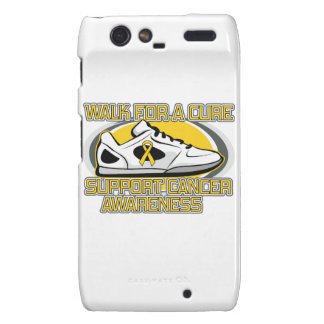 Childhood Cancer Walk For A Cure Motorola Droid RAZR Cover