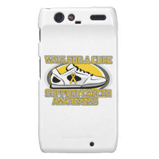 Childhood Cancer Walk For A Cure Droid RAZR Cover