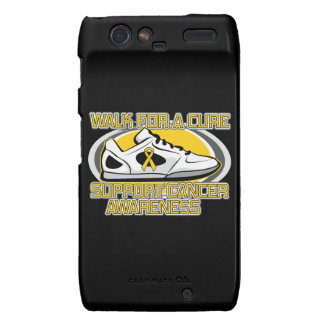 Childhood Cancer Walk For A Cure Droid RAZR Covers