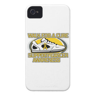 Childhood Cancer Walk For A Cure iPhone 4 Case-Mate Case