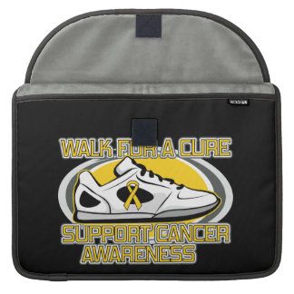 Childhood Cancer Walk For A Cure MacBook Pro Sleeve