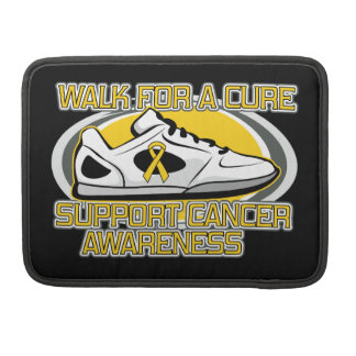 Childhood Cancer Walk For A Cure Sleeves For MacBook Pro