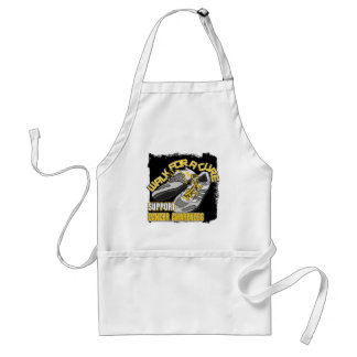 Childhood Cancer Walk For A Cure Shoes Apron