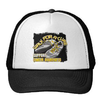 Childhood Cancer Walk For A Cure Shoes Cap