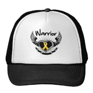 Childhood Cancer Warrior Fighter Wings Hats