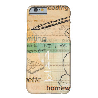 Childhood Education Montage Barely There iPhone 6 Case