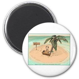 Childhood Entreprepneur Funny Cartoon Gifts & Tees 6 Cm Round Magnet