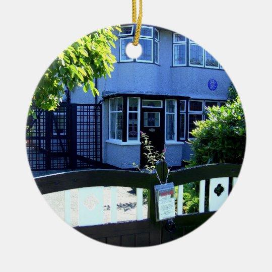 Childhood home of John Lennon Christmas Ornament