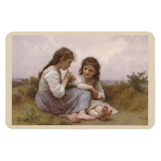 Childhood Idyll by Bouguereau Magnet