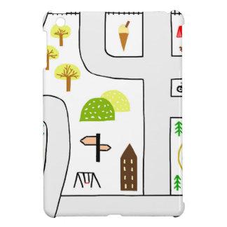 Childhood Map iPad Mini Cover