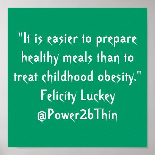 childhood obesity problem solution