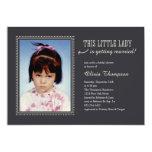Childhood Photo Bridal Shower Invitations 13 Cm X 18 Cm Invitation Card