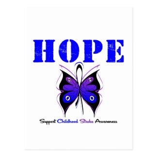 Childhood Stroke Hope Postcard
