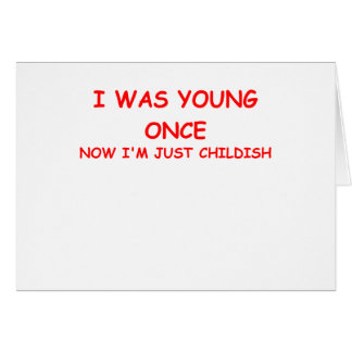 childish card