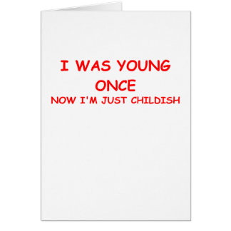 childish card