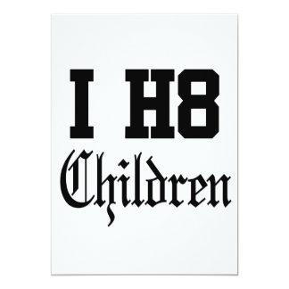 children 13 cm x 18 cm invitation card
