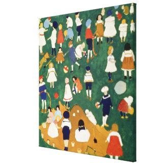 Children, 1908 canvas print