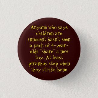 Children 3 Cm Round Badge