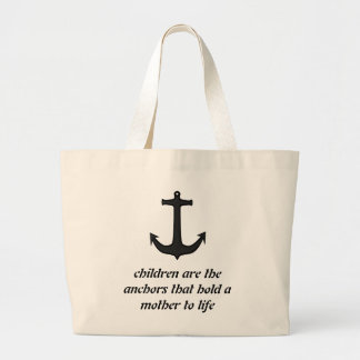 Children Anchor Mothers Large Tote Bag