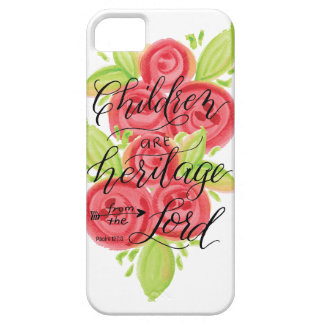 Children are Heritage from the Lord iPhone 5 Cover