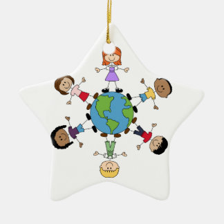 Children Around The World Christmas Ornament