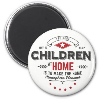 children at home magnets