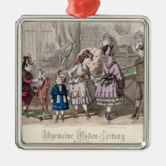 Children at Play Christmas Ornament