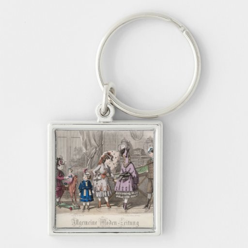 Children at Play Key Chains