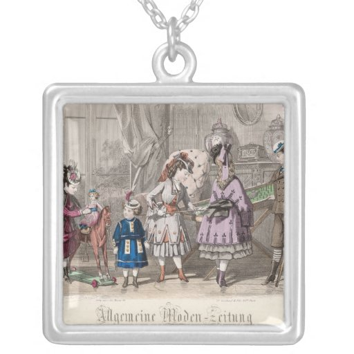Children at Play Pendant